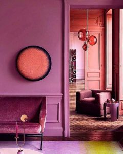 Interior Color Theory Pink